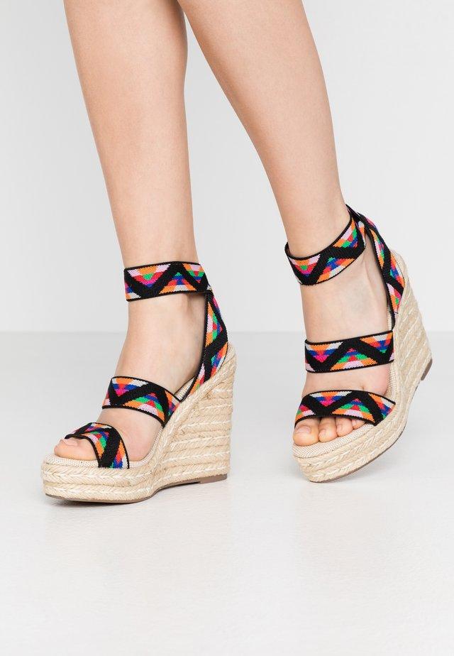 SHIMMY - Højhælede sandaletter / Højhælede sandaler - multicolor