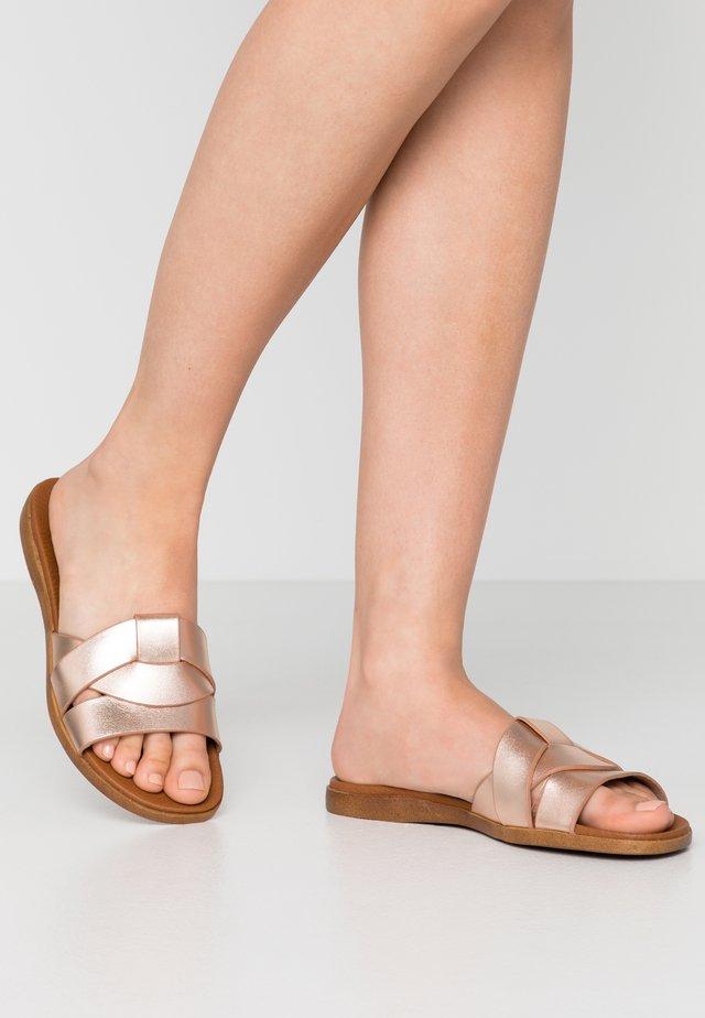 VIVIEN - Pantofle - rose gold