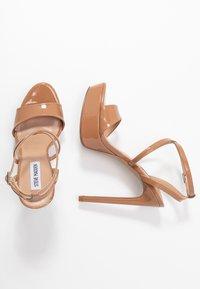 Steve Madden - STUNNING - Sandaler med høye hæler - camel - 3