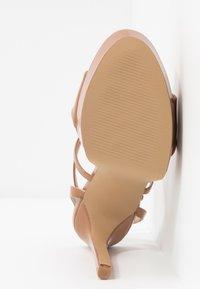 Steve Madden - STUNNING - Sandaler med høye hæler - camel - 6