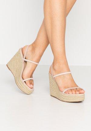 SKYLIGHT - Sandaler med høye hæler - nude