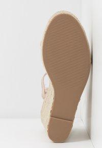 Steve Madden - SKYLIGHT - Sandaler med høye hæler - nude - 6