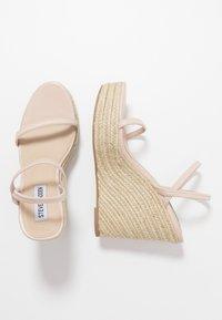Steve Madden - SKYLIGHT - Sandaler med høye hæler - nude - 3