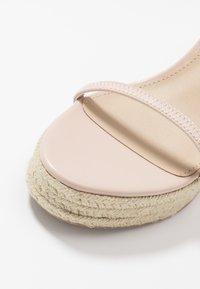 Steve Madden - SKYLIGHT - Sandaler med høye hæler - nude - 2