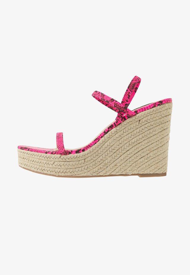 SKYLIGHT - Højhælede sandaletter / Højhælede sandaler - pink