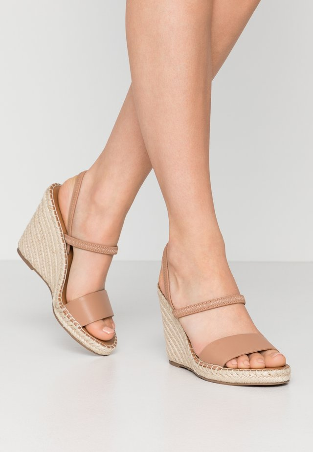 MCKENZIE - High heeled sandals - tan