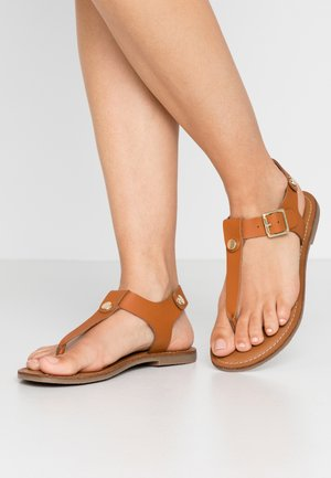 TALLY - Teensandalen - cognac