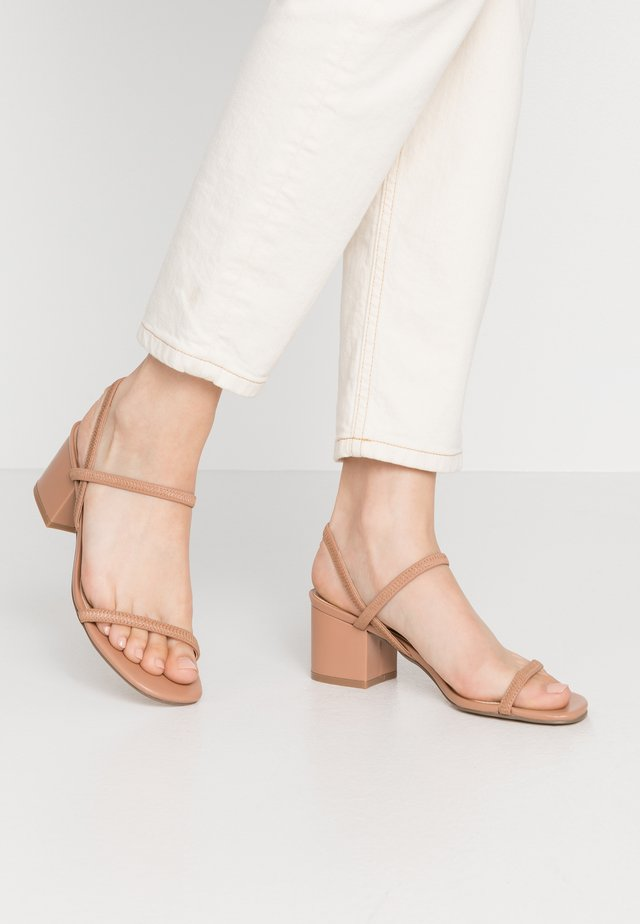 INESSA - Sandals - dark tan