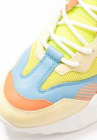 Steve Madden - ATLANTA - Sneakers - blue/yellow - 2