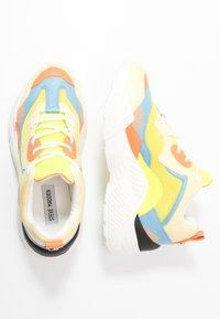 Steve Madden - ATLANTA - Sneakers - blue/yellow - 3