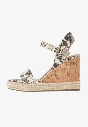 LAKIN - High heeled sandals - brown