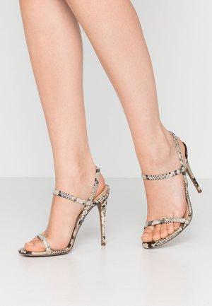 GABRIELLA - Sandaler med høye hæler - gold