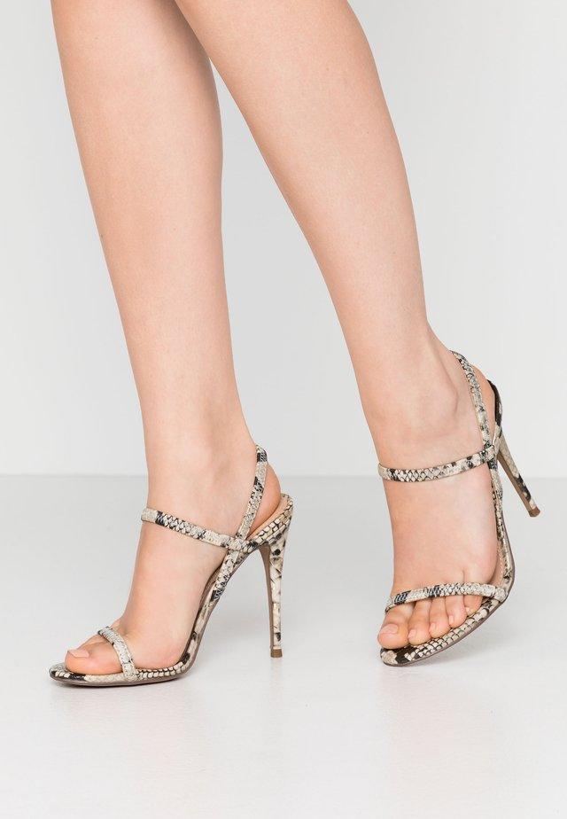 GABRIELLA - Højhælede sandaletter / Højhælede sandaler - gold