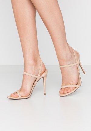 GABRIELLA - Sandaler med høye hæler - nude
