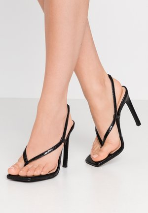 BASHMENT - High heeled sandals - black
