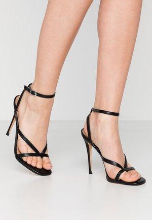 AMADA - Sandály na vysokém podpatku - black