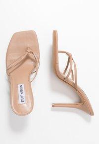 Steve Madden - SCORED - Pantofle na podpatku - natural - 3
