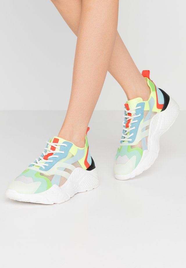ASHEN - Sneakers - teal multicolor