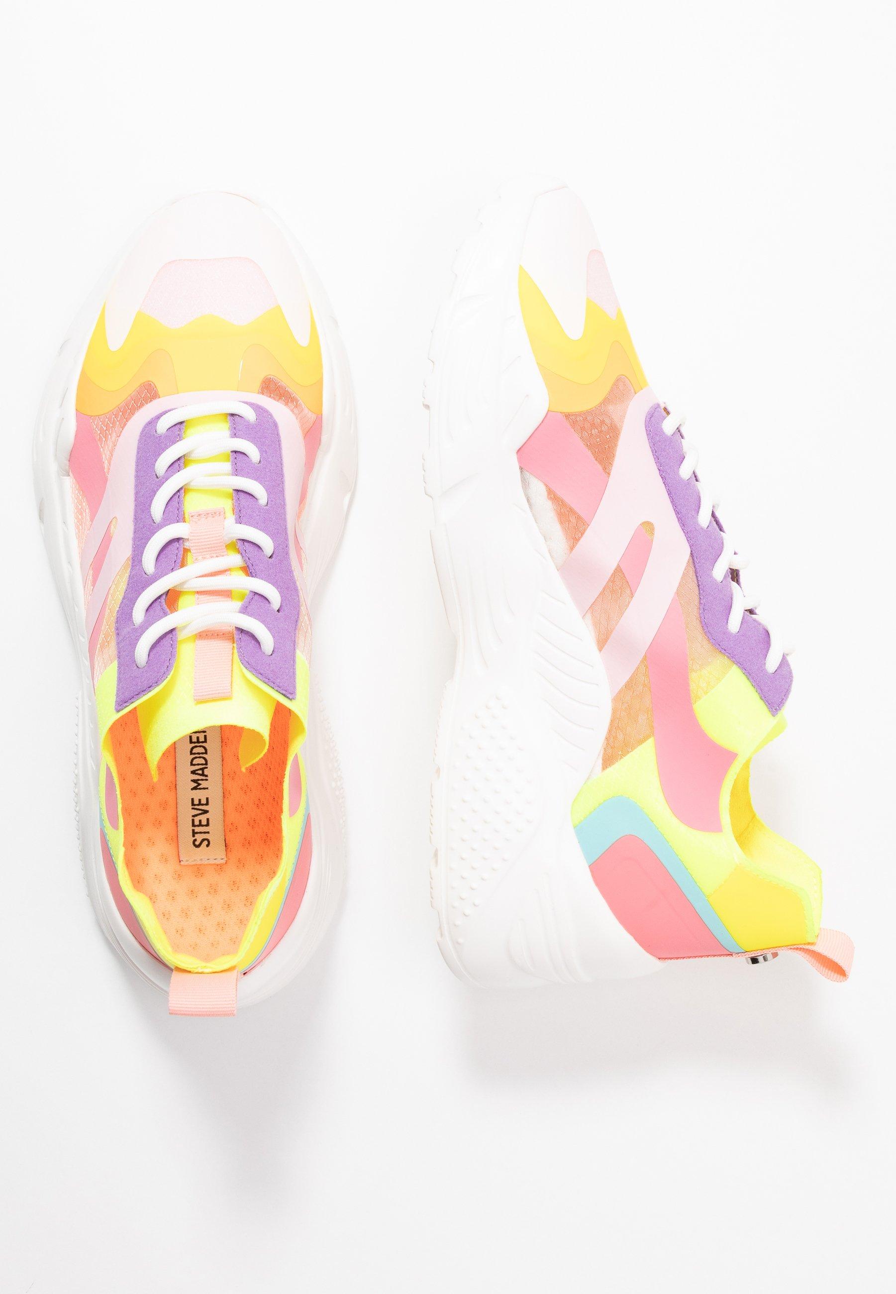 Steve Madden ASHEN - Sneakersy niskie - purple/multicolor