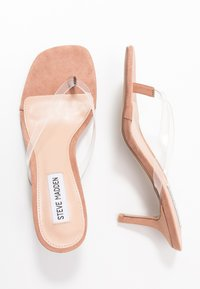 Steve Madden - MELROSE - Sandály s odděleným palcem - clear - 3