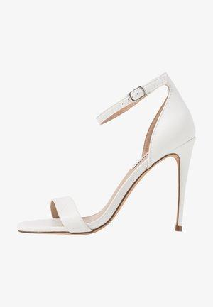 REEVES - High Heel Sandalette - white
