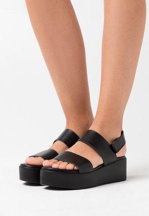 RACHEL  - Korkeakorkoiset sandaalit - black