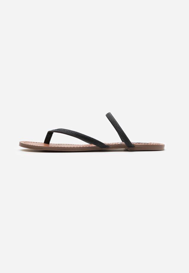 ENJOY  - Sandaler m/ tåsplit - black