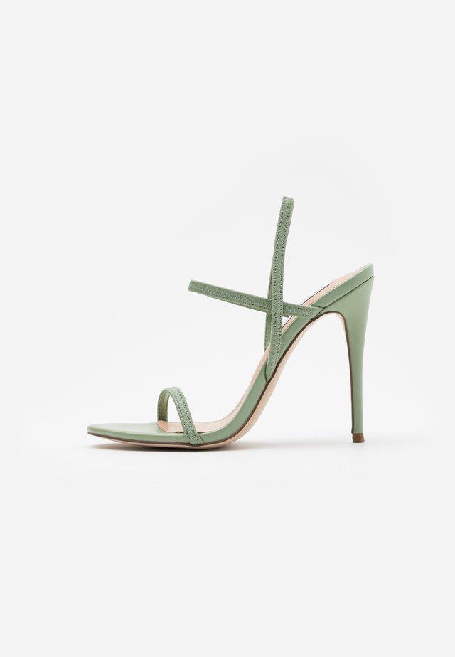 GABRIELLA  - Højhælede sandaletter / Højhælede sandaler - mint green