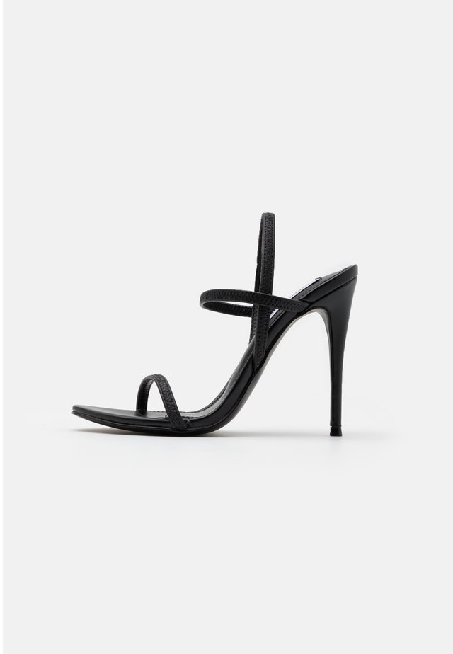 GABRIELLA  - High heeled sandals - black
