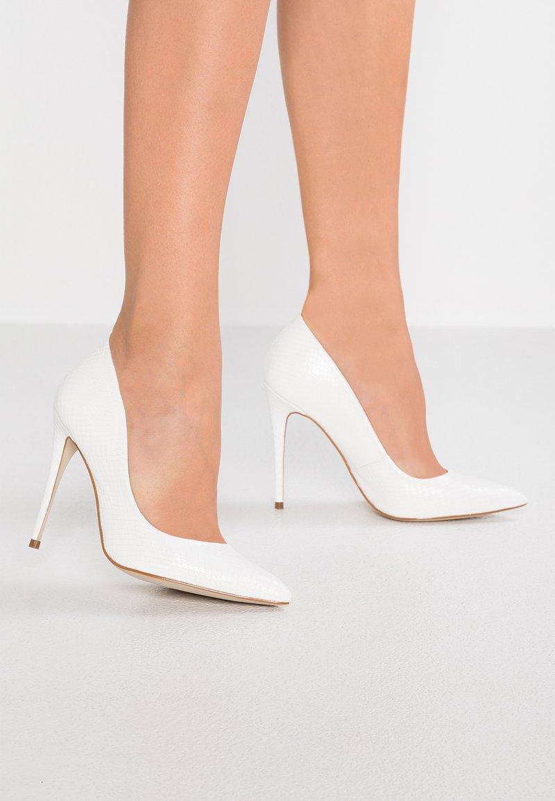 Steve Madden - DAISIE - High heels - white
