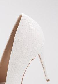 Steve Madden - DAISIE - High heels - white - 2