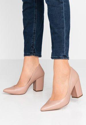 PORTRAIT - Zapatos altos - blush