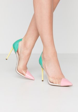 MALIBU - High heels - bright multicolor