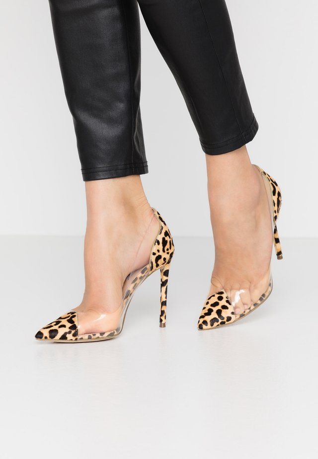 MALIBU - Klassiska pumps - brown