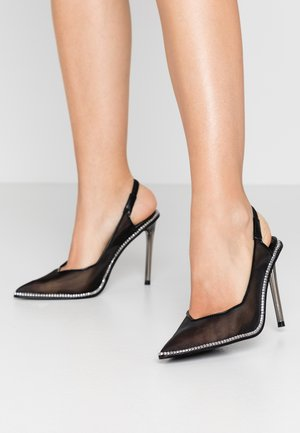 SAVLAMAR - Zapatos altos - black