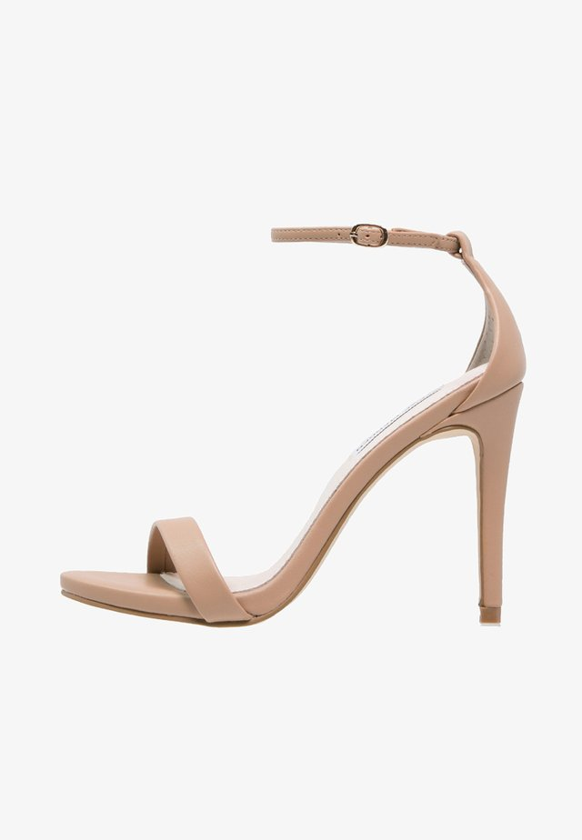 STECY - High heeled sandals - natural