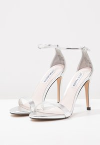 Steve Madden - STECY - High heeled sandals - silver metallic - 3