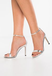Steve Madden - STECY - High heeled sandals - silver metallic - 0