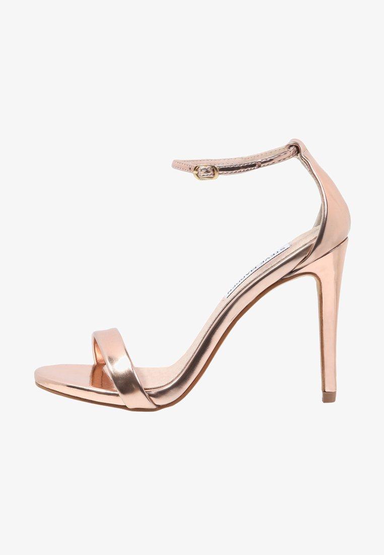 Steve Madden - STECY - Korolliset sandaalit - rose gold