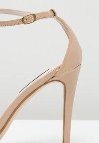 Steve Madden - STECY - Korolliset sandaalit - blush - 5