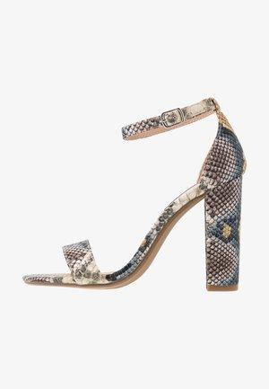 CARRSON - Sandalen met hoge hak - multicolor