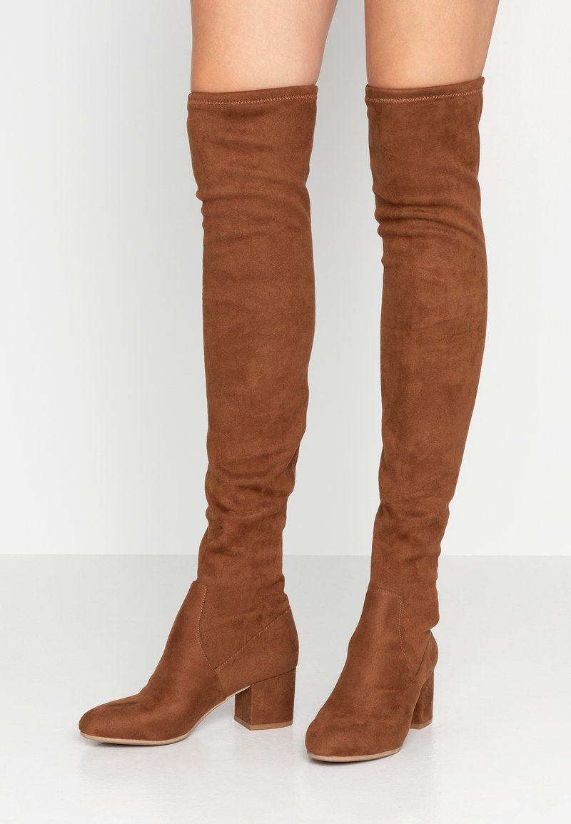 Steve Madden - ISAAC - Over-the-knee boots - brown