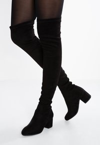 Steve Madden - ISAAC - Over-the-knee boots - black - 0