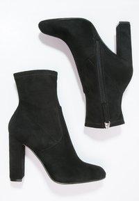 Steve Madden - EDITT - Kotníková obuv na vysokém podpatku - black - 2