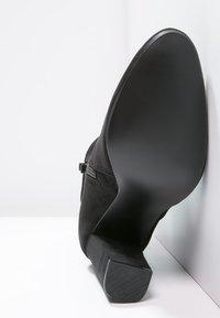 Steve Madden - EDITT - Kotníková obuv na vysokém podpatku - black - 5