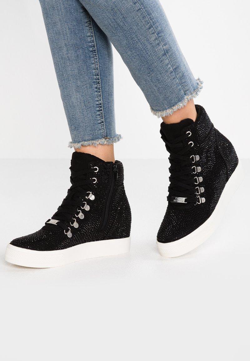 Steve Madden - COREY - Sneakers hoog - black/multicolor