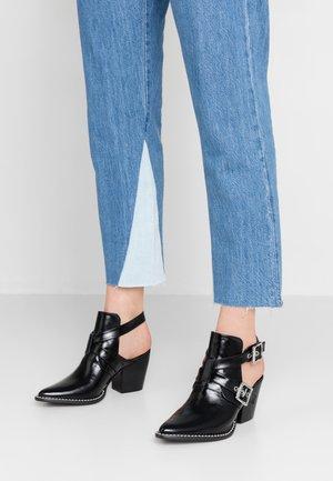 POWERED - Kotníková obuv - black