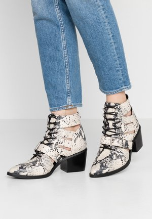 EMMY - Ankle boot - natural