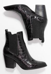 Steve Madden - PATRICIA - Cowboystøvletter - black - 3