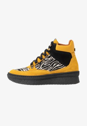 Ankelboots - yellow/multicolor